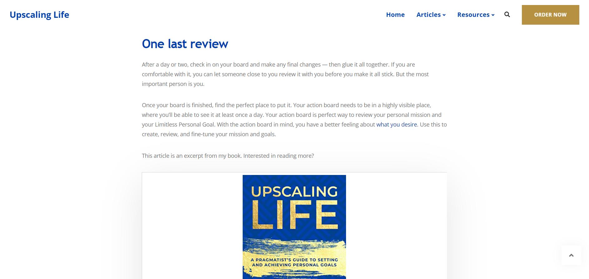 Upscaling Life 4